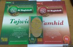 Dua buah buku iaitu Tajwid dan Tamhid untuk kelas mengaji Al-Quran