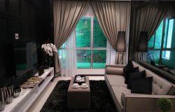 contoh rumah pr1ma penang ruang tamu