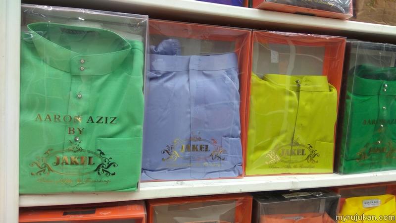 Beli baju melayu Aaron Aziz yang kemas dan cantik
