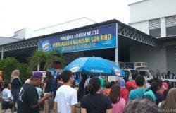 Promosi aiskrim murah dari kilang dari pengedar aiskrim nestle Penang