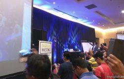 Sesi sebelum seminar saham kendalian Tuan Haji Mohd Asri Ahmad di mulakan