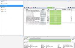 Contoh paparan fail yang di download menggunakan uTorrent