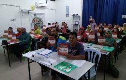 Group Kelas Mengaji Al-Quran Dewasa Sesi Januari 2018 Di Al-Baghdadi Penang