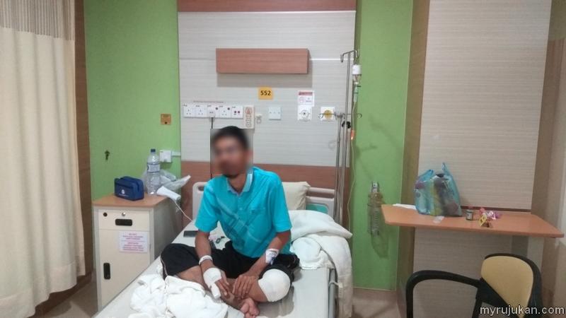 Masuk wad di Hospital KPJ Bandar Perda Bukit Mertajam Pulau Pinang