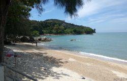 Permandangan Pantai Batu Ferringhi Pulau Pinang