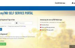 Anda boleh semak bil elektrik rumah anda melalui website MyTNB Malaysia