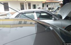 Antena radio baru untuk kereta Proton Saga