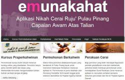 Website rasmi untuk daftar kursus kahwin penang