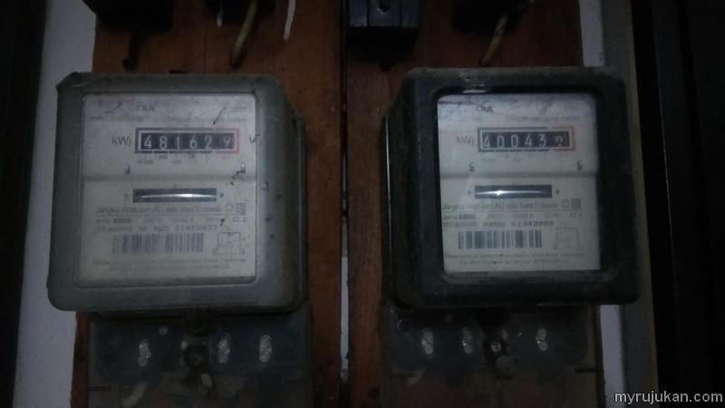 meter elektrik rumah jenis analog