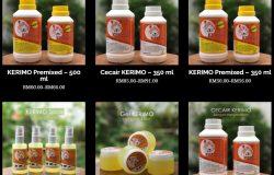 Pelbagai jenis produk KERIMO yang ada dijual di pasaran