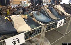 Salah satu kilang pembekal seluar jeans berjenama yang ada di Penang