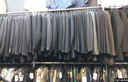 Baju kot dan blazer murah yang dijual di kedai pakaian terpakai bundle