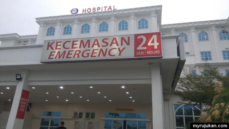 Buat medical checkup di Hospital KPJ Pulau Pinang