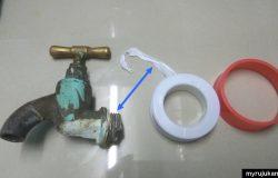 Cara pasang dan tukar kepala paip baru