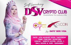 Contoh banner soft launching Lavida Coin dari Dato Seri Vida