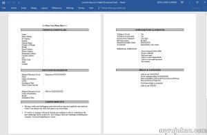 Contoh Resume Simple Yang Sesuai Untuk Anda Memohon Kerja Kilang