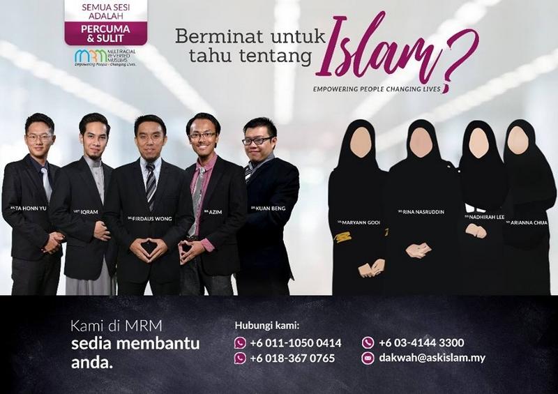 Barisan Ahli Di Dalam Multiracial Reverted Muslim Malaysia
