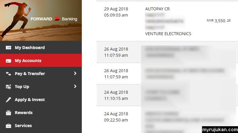 Contoh gaji bersih yang dapat dari kilang Venture Electronics Bayan Lepas Penang
