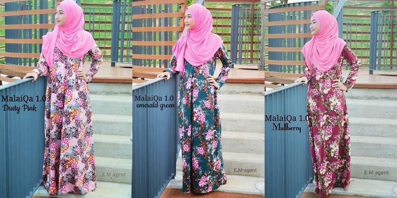 Dropship baju jubah brand Eilamaya