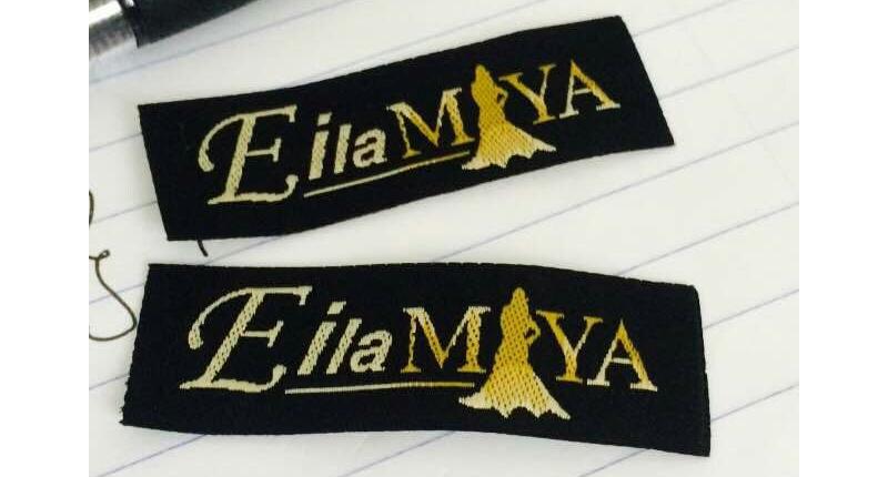 Logo label bagi brand pakaian wanita muslimah dari jenama EilaMaya