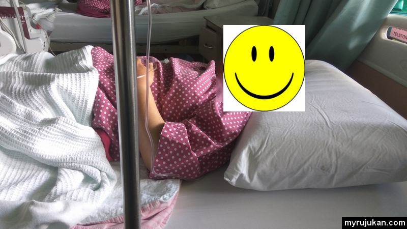 Berehat dan tidur selepas pembedahan laparoscopy