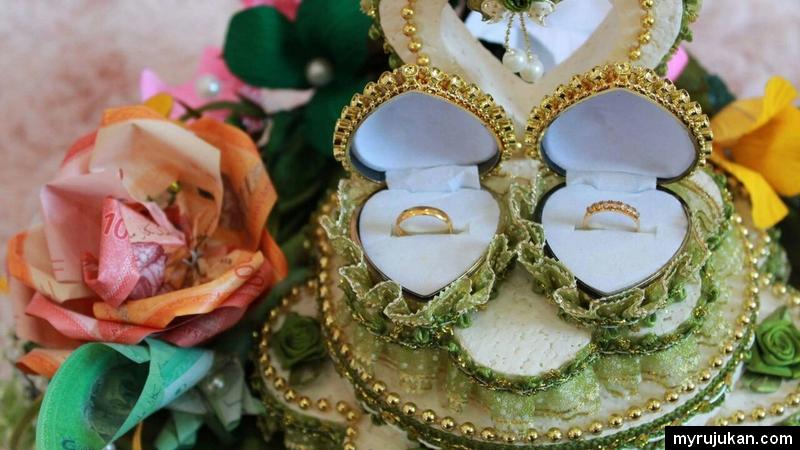 Cincin kahwin dan pertunangan yang perlu anda buat bajet kira kira dari awal