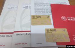 Guna medical card dari AIA Public Takaful