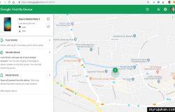Panduan track smartphone android menggunakan Google Find My Device