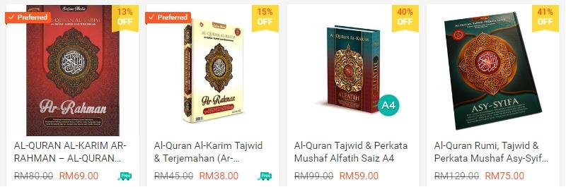 Al-Quran rasm uthmani dengan tajwid berwarna