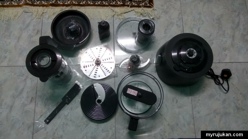 Set lengkap Philips Avance Collection Food Processor HR7776