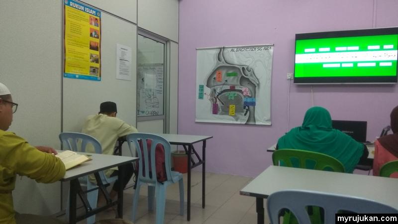 kelas talaqqi Al-Quran Al-Baghdadi