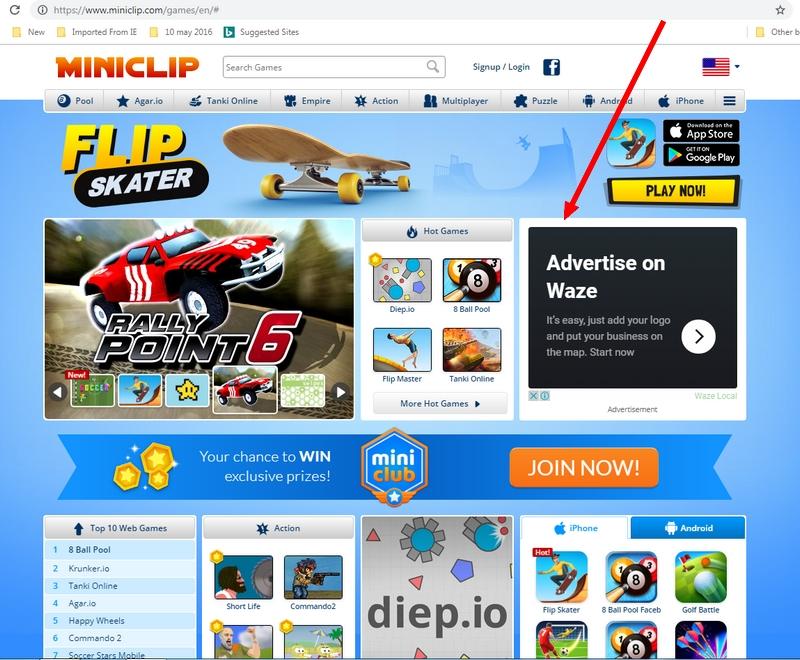 Contoh game permainan jenis flash yang lama yang juga buat duit melalui iklan