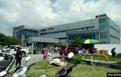 Kilang dan gudang peralatan elektrik Pensonic di Pulau Pinang