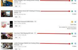 Video video di dalam YouTube channel saya sudah boleh monetize