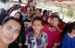 Akhir sekali kali menaiki bot River Cruise untuk melengkapkan perjalanan percutian ke Melaka kami sekeluarga