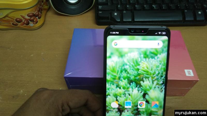 Xiaomi Mi 8 Lite menggunakan 24MP kamera hadapan