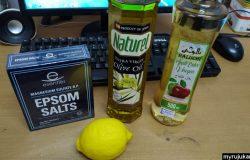 Bahan bahan untuk membuat liver detox