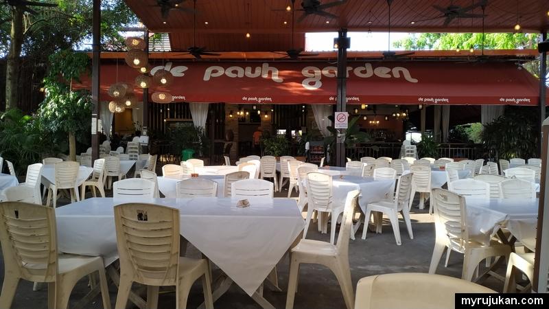 Boleh guna kad BigPay di restoran De Pauh Garden