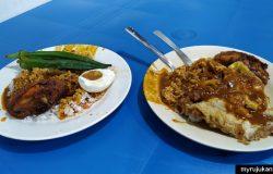 Deen Maju nasi kandar yang sedap di Penang