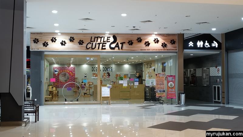 Kedai kucing Little Cute Cat Mydin Jalan Baru