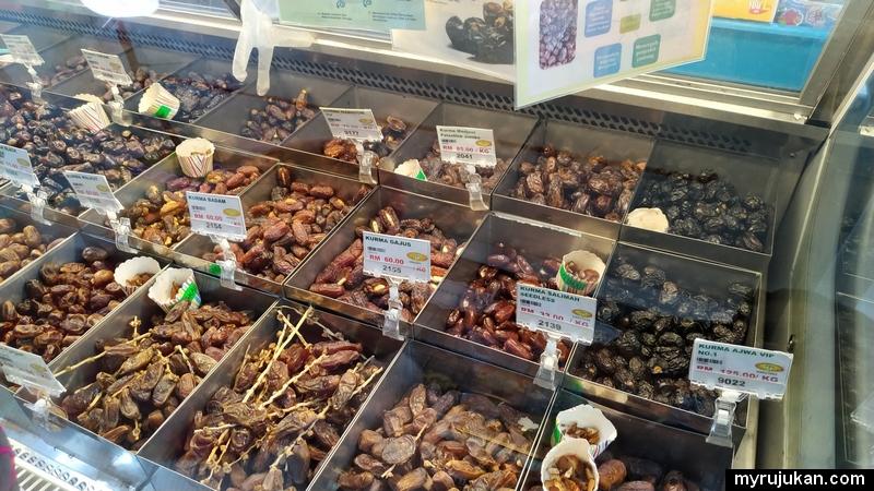 Borong pelbagai jenis buah kurma yang sedap dan berkualiti di Pulau Pinang