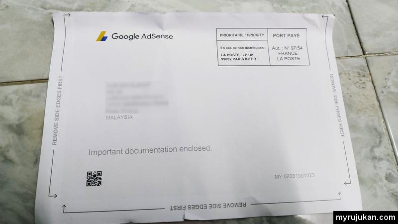 Kad Surat Google Adsense Personal Identification Number