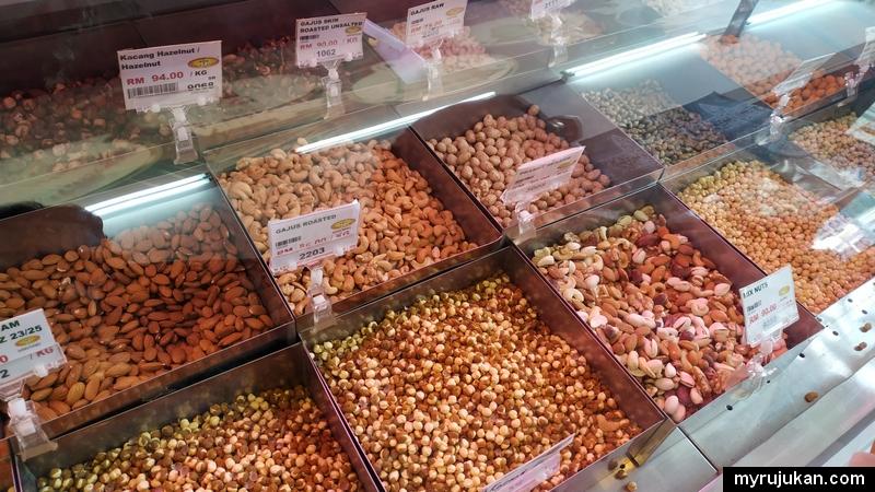 Pelbagai jenis kekacang dari timur tengah yang berkhasiat