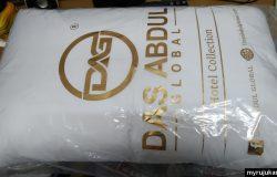 Saya beli bantal Das Abdul secara online di Lazada sudah sampai