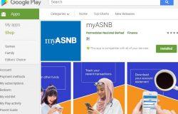 Aplikasi MyASNB sudah tersedia di Google Play