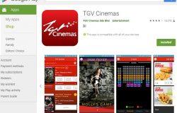 Aplikasi tiket wayang TGV untuk smartphone
