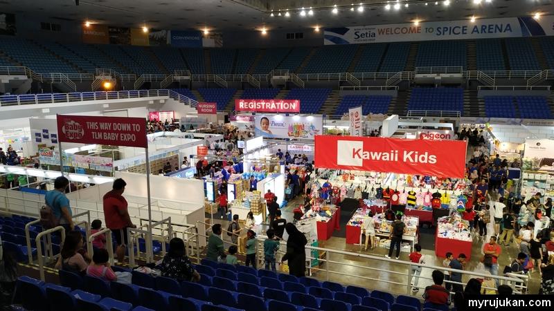 Ruang dalam di Baby Expo di Spice Arena Pulau Pinang
