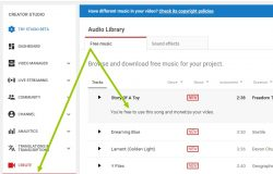 cara mendapatkan free audio dari YouTube