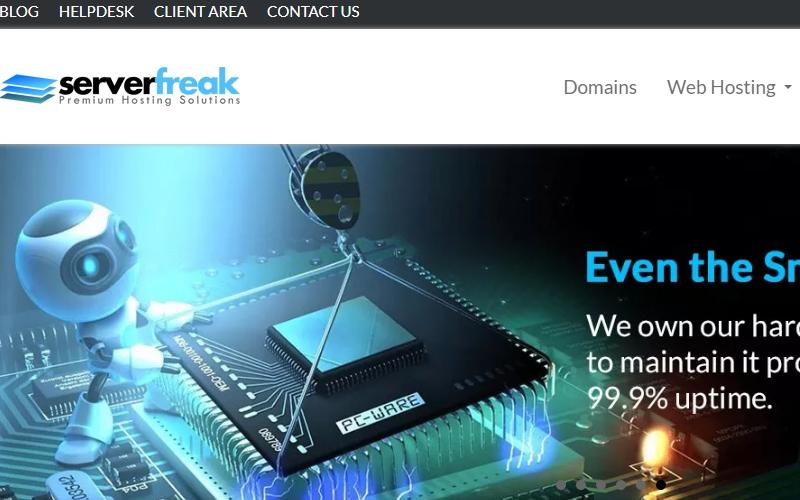 domain dan hosting serverfreak