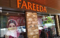 Butik Fareeda di jalan Permatang Pauh Pulau Pinang